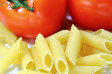 Pasta tomatos
