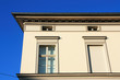 Altbau Hausfassade schraeg 3