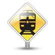 Symbole glossy vectoriel train 03
