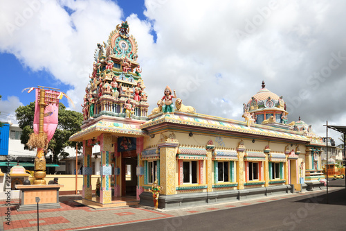 hindu temple in Mauritius capital city Port Louis