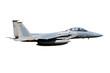 F-15 jet isolated