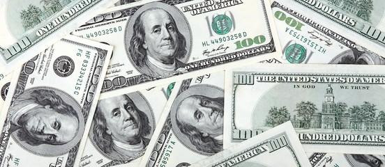 american dollars hundreds banknote