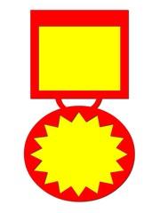 Medalla ganador