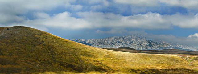 steppe in Durmitor National Park, Montenegro