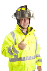 Friendly Fireman - Thumbsup