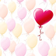 pattern with balloons