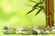 Fototapeten,wellness,kerze,bambus,hintergrund