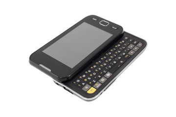 Mobile phone with the keyboard