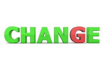 Chance to Change - Green and Red