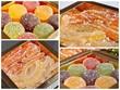 pâtes de fruits orangettes et citronettes