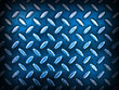 Diamond Blue Metal Background Texture