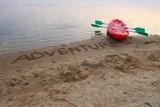 Adventure boat poster