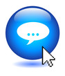 COMMENT Button (share forum users opinion web testimonials vote)