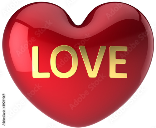 Heart Love beautiful icon. High quality Valentine's Day symbol