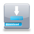 Button spare Download grau blau