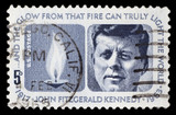 US postage stamp: J.F. Kennedy