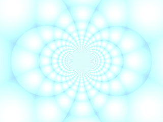 Fractal light kaleidoscope