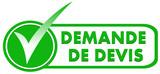 demande de devis sur symbole validé vert poster