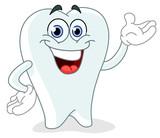 Fototapety Cartoon tooth