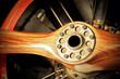 vintage redwood aircraft propeller and engine