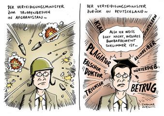 Guttenberg unter Beschuss