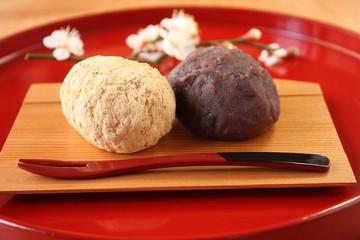 おはぎ Ohagi rive cake