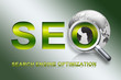 SEO - World, green