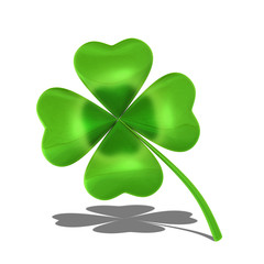 Four-leaf shamrock