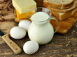 dairy products and Fresh eggs