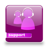 Button spare Support lila