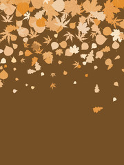 Happy thanksgiving day template background. EPS 8