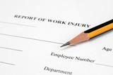 Work injury poster