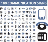100 communication signs