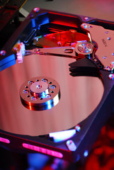 Hard disk background