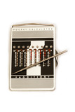 antique manual pocket calculator