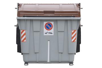contenedor de basura organica