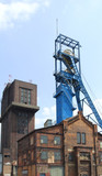 Coal mine shaft poster