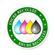 encre imprimante recyclage