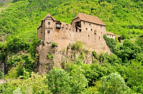 Leinwanddruck Bild Runkelstein - castle Runkelstein 03