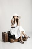 Beautiful fashionable woman