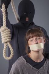 hangman and victim