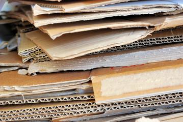cartone da riciclare