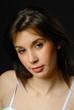 portrait d'une belle femme brune 21