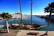 Goleta en el puerto de Alicante