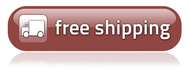 "Bar-shaped Button ""Free Shipping"""