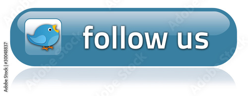 "Bar-shaped Button ""Follow Us"""