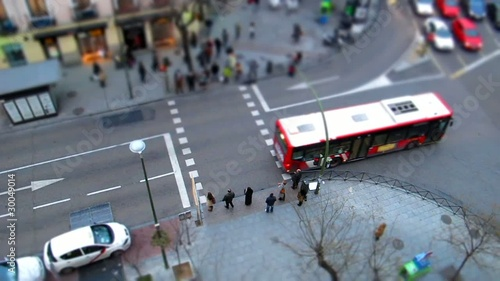 Madrid tilt shift 2