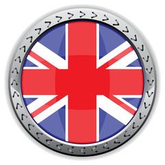 FLAG OF ENGLAND BUTTON