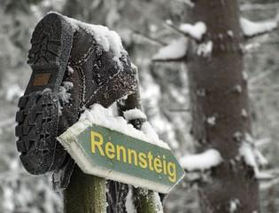 Rennsteig-Schild