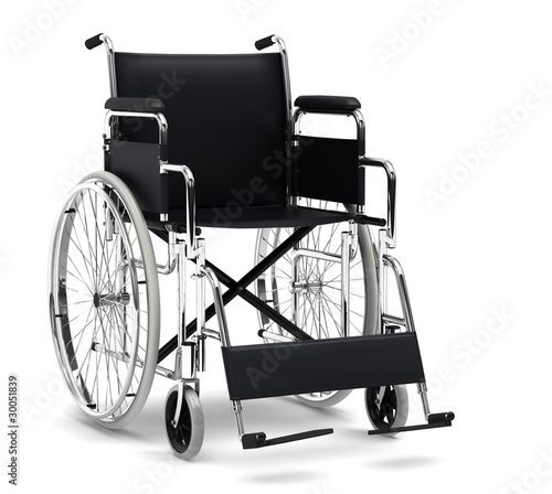 canvas print picture wheelchair